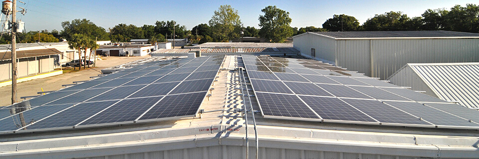 Florida-Solar-Commercial-photovoltaic-solar-panel-technology
