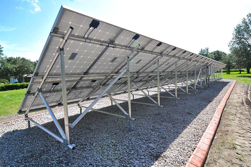 Orlando Solar Residential Home Family Installation