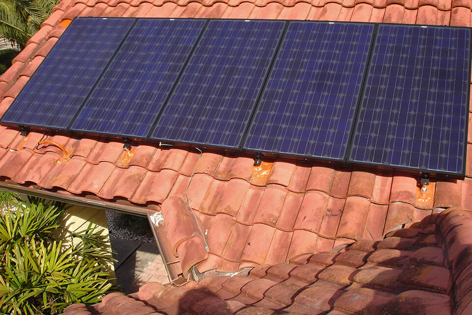 Florida Solar Roof for Residential Installation