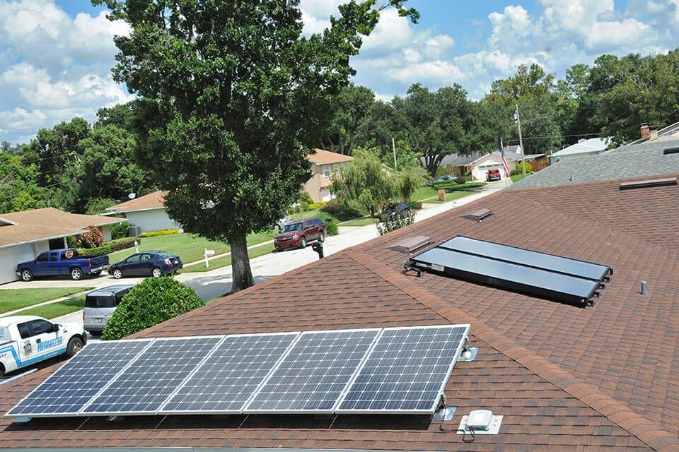 Florida Solar Roof for Residential Photovoltaic-