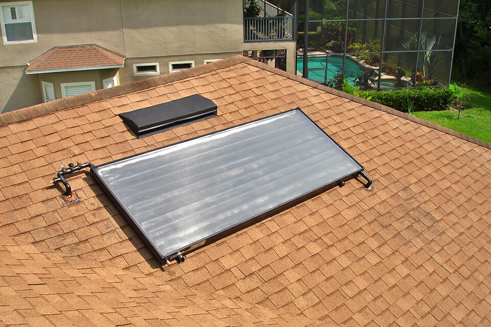 Florida Solar Water Heater for Residential Pool